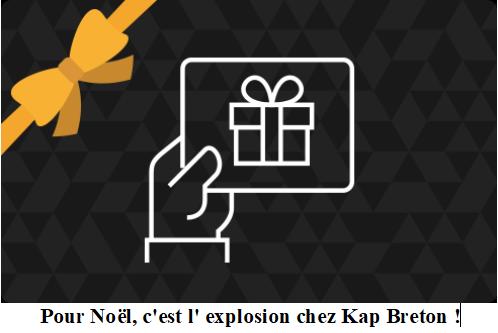 Idée cadeau : Optez pour une carte séjour bord de mer chez Kap Breton