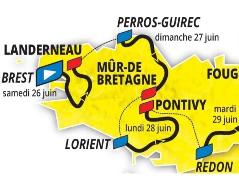 108 -ème édition du Tour de France 2021