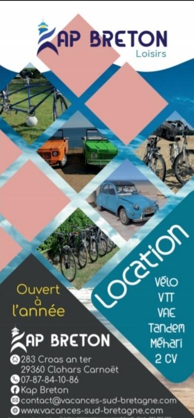 Nouveau flyer location vélo